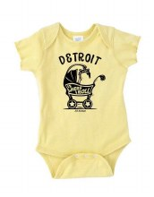 Ink Detroit Onesie - Where I Roll 12M