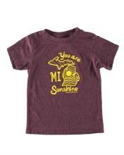 Ink Detroit T-Shirt - You Are MI Sunshine
