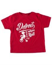 Ink Detroit T-Shirt - Where I Roll 2T