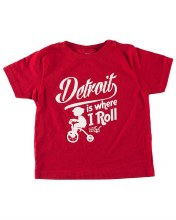 Ink Detroit T-Shirt - Where I Roll 4T