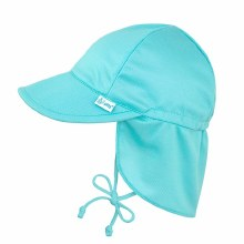 iplay Breathable Flap Hat Aqua 0-6 Months