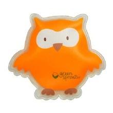Green Sprouts Cool Calm Press- Orange Owl