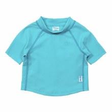 Aqua Short Sleeve Rashguard