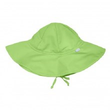 iPlay Solid Brim SunPro Hat Lime 6-18 Months
