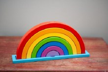Magical Rainbow Puzzle