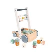 Cart with ABC Blocks