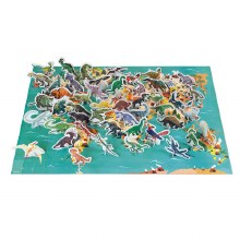 Janod Education Puzzle- The Dinosaurs