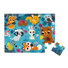 Janod Tactile Puzzles - Forest Animals
