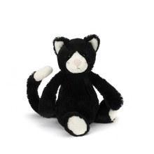 Jellycat Bashful Black and White Cat- Medium