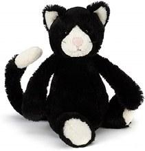 Jellycat Bashful Black and White Cat- Small