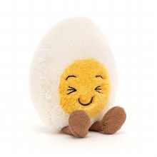 Amuseable Boiled Egg- Laughing