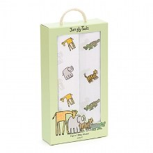 Jellycat Swaddle Jungly Tails 2 pack