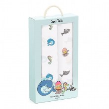 Jellycat Swaddle Sea Tails 2 pack