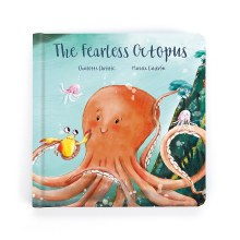 Jellycat Book The Fearless Octopus