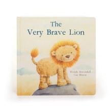 Jellycat Book The Very Brave Lion
