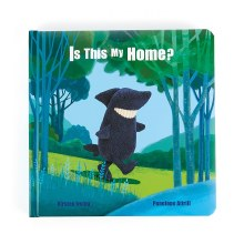 Jellycat Book Is This My Home?