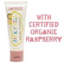 Jack N Jill Natural Toothpaste Organic Raspberry