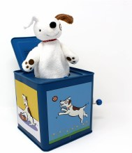 Jack Rabbit Creations Dog Jack-In-The-Box