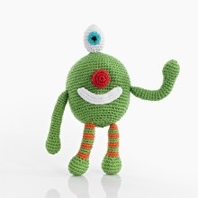 Pebble Chubby Monster  Green