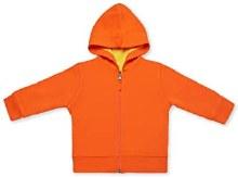 Kidential Organic Cotton Reversible Hoodie Orange/Yellow