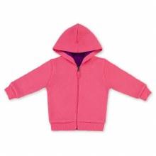 Kidential Organic Cotton Reversible Hoodie Pink/Purple