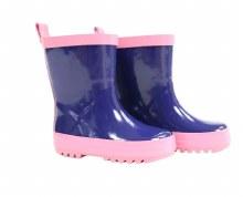 Korango Navy & Pink Rainboots
