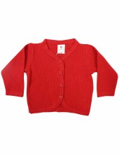 Korango Cardigan- Red NB