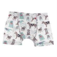 Kickee Pants Everyday Heroes Boxer Brief in Natural Canine First Responders