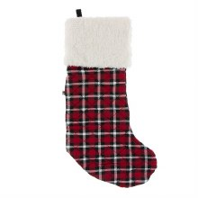 Kickee Pants Quilted Stocking Holiday Plaid