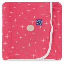 Kickee Pants Print Swaddling Blanket in Red Ginger Full Moon