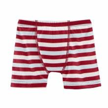 First Day of School Print Underwear Hopscotch Stripe