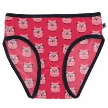 First Day of School Print Underwear Taffy Wise Owls
