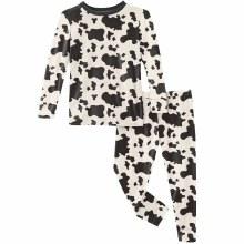 County Fair Pajama Set- Cow Print