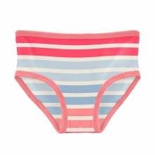 County Fair Print Underwear Cotton Candy Stripe