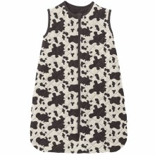 County Fair Quilted Sleeping Bag Cow Print