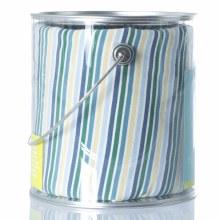 Kickee Pants Crib Sheet in Boy Perth Stripe
