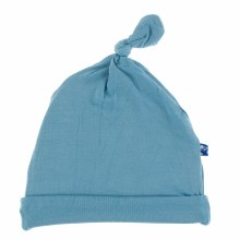 Kickee Pants Basic Knot Hat Blue Moon
