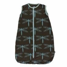 Kickee Pants Print Lightweight Sleeping Bag in Giant Dragonfly