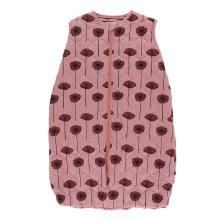 Kickee Pants Botany Print Quilted Sleeping Bag Strawberry Poppies  0-6m