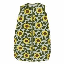 Kickee Pants Tuscany Sleeping Bag Aloe Sunflower 0-6m
