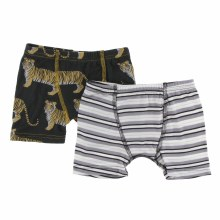 Kickee Pants India  Boxers Zebra Tiger/India Pure Stripe