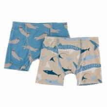 Kickee Pants Oceanography Boxer Set