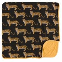 Kickee Pants India  Print Toddler Blanket  Zebra Tiger