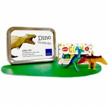 kittd Dino On-The-Go Play Set