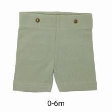 Organic Cotton Suspender Shorts Fern