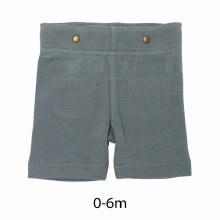 Organic Cotton Suspender Shorts Moonstone