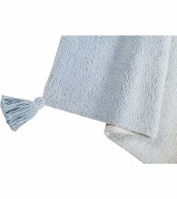 Lorena Canals Rug - Ombre Grey Baby Blue