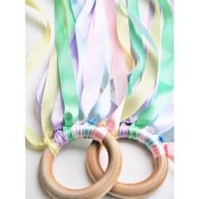 Hand Kite Rainbow- Pastel