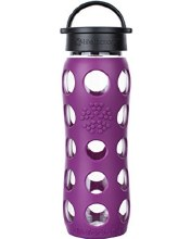 Lifefactory 22 Ounce Classic Cap Bottle Plum