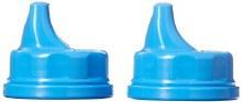 Lifefactory Sippy Caps 2-Pack Cobalt Blue
